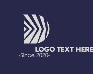 Innovate - Innovation Business Letter D logo design