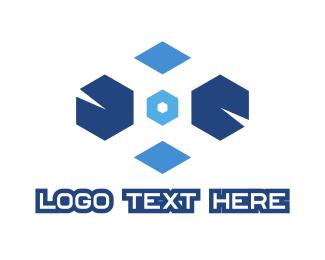 Video Game - Geometric Gaming  logo design
