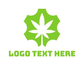 Gear - Gear Marijuana logo design