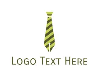 Suit - Business Pen logo design