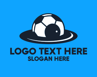 Spaceship - Soccer Spaceship logo design