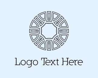 Interior Decoration - Circle Emblem  logo design