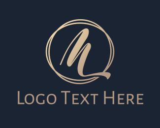 Dinnerware - Minimalist Luxury M logo design