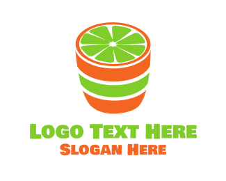 Tequilla - Lime Shot logo design