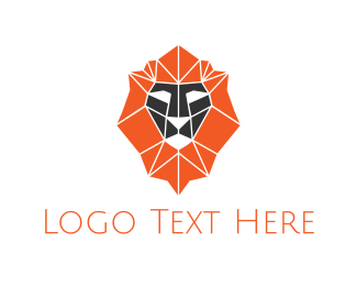 Financial Service - Diamond Lion logo design