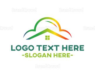 Rainbow - Rainbow House logo design