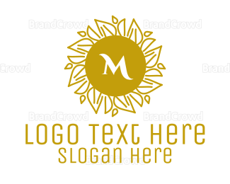 Busiess - Luxurious Stroke Pattern Lettermark logo design