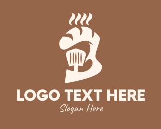 Bakery - Brown Bakery Store logo design