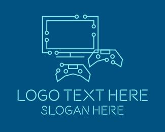 Gaming - Gaming Circuitry logo design