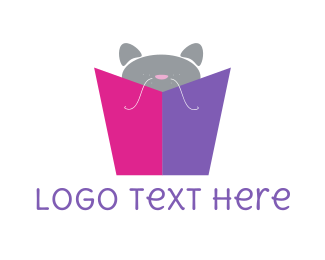 Gift - Kitten Gift logo design
