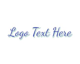 Elegant - Blue & Elegant logo design