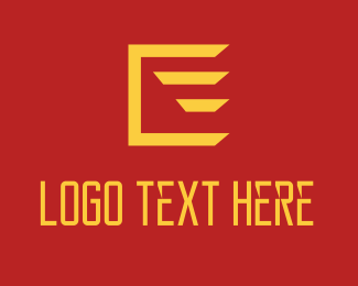 Courier Service - Fast Flying Box logo design