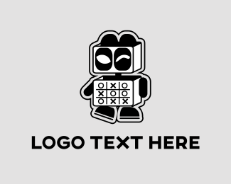 Esports - Panda Robot logo design
