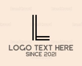 Led - Minimalist Blue G logo design