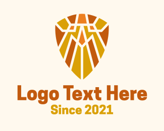 Security - Tribal Mosaic Shield logo design