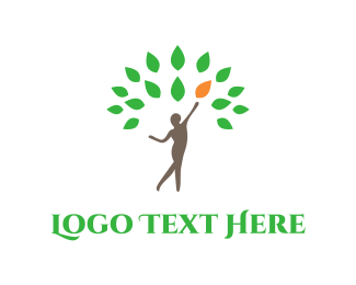 Relaxing - Body Tree logo design