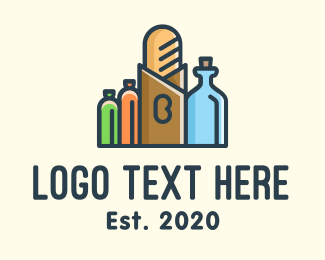 Grocery Store - Grocery Store Items logo design