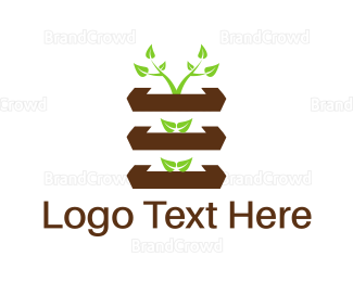 Garden - Vertical Garden logo design