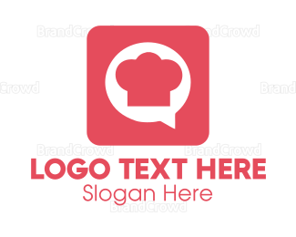 Chat - Chef Chat logo design