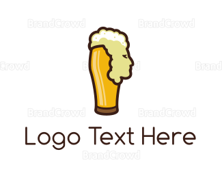 Cheers - Beer Head logo design
