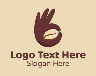 Good - Good Coffee Bean logo design