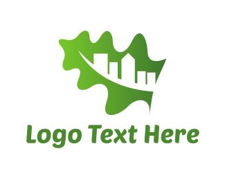 Green Building - Organic City logo design