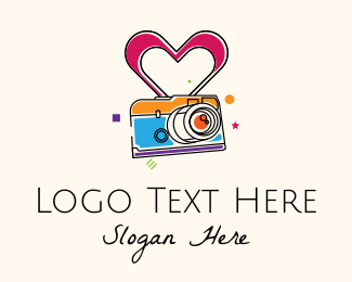 Image - Colorful Camera  logo design