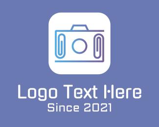 Mobile App - Camera Clip Mobile App logo design