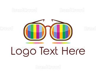 Sunglasses - Colorful Glasses logo design