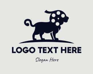 Film Production - Black Lion Reel logo design