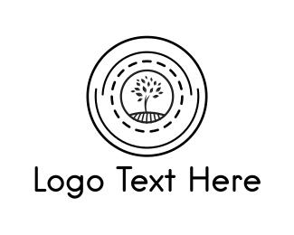 Tree - Tree Circle logo design