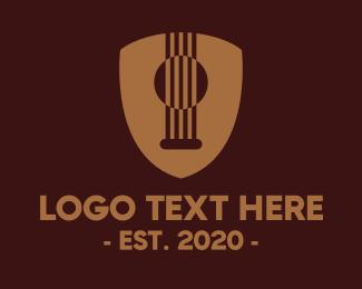 Guitar - Guitar Strings logo design