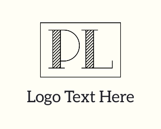 Apparel - P & L logo design