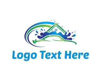 Water - Car Wash logo design