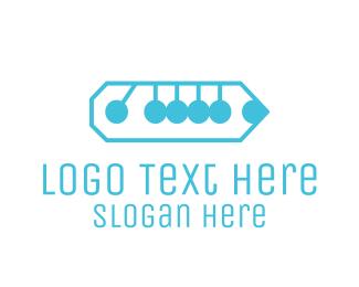 School - Pencil & Movement  logo design