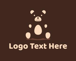 Bear - Teddy Bear logo design