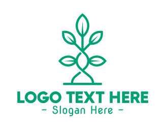 Vine - Vine Plant Leaves logo design
