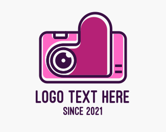 Romantic - Romantic Digital Camera  logo design