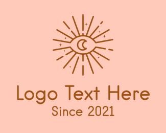 Fortune Teller - Cosmic Eye Astrology logo design