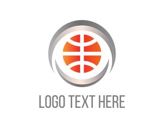 Basket - Basketball Circle logo design