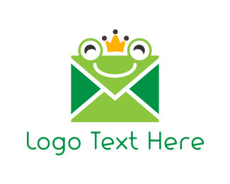 Frog - Mail Frog logo design