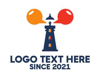 Beacon - Lighthouse Talk logo design