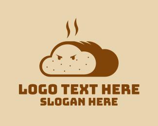Cookbook - Fresh Bread Mascot logo design