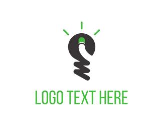 Forum - Green Light Idea logo design