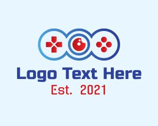 Fortnite - Gaming  Controller Lens  logo design