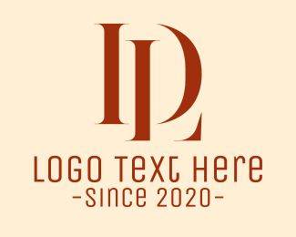 Ld - Minimalist Monogram L & D logo design