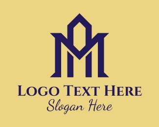 Hospitality - Professional A & M Monogram logo design