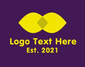 Beauty - Lemon Lip Cosmetic logo design