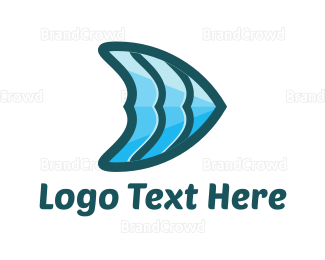 Fin - Blue Fin logo design