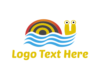 Swimming Snail Logo